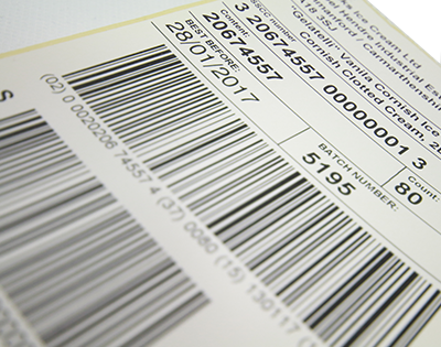 Variable Barcode Label Landing Page