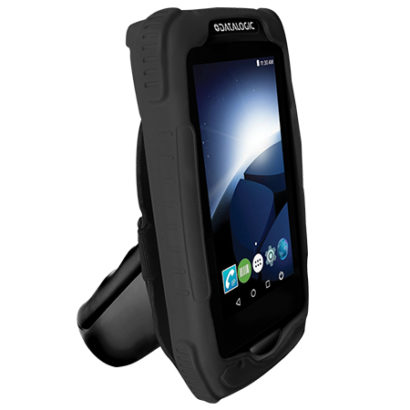Datalogic Memor 1 General Purpose Full Touch Android Mobile Computer gun mode facing left