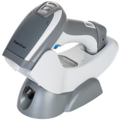 Datalogic PowerScan PD9500 Retail Area Barcode Scanner White In Cradle