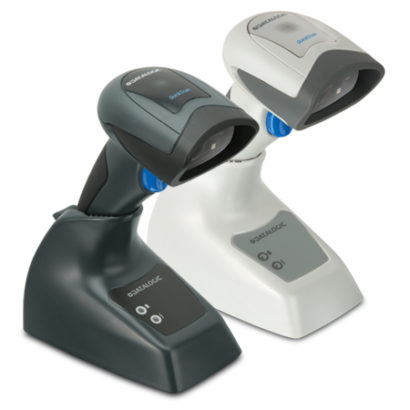 Datalogic QuickScan I QM2400 2D Imager Barcode Scanner black and white facing right