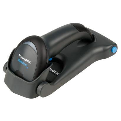 Datalogic QuickScan Lite QW2400 1D2D Barcode Scanner In Flat Stand