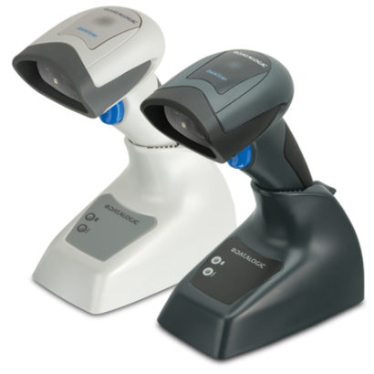 Datalogic QuickScan QBT2131 Imager Barcode Scanner black and white left facing