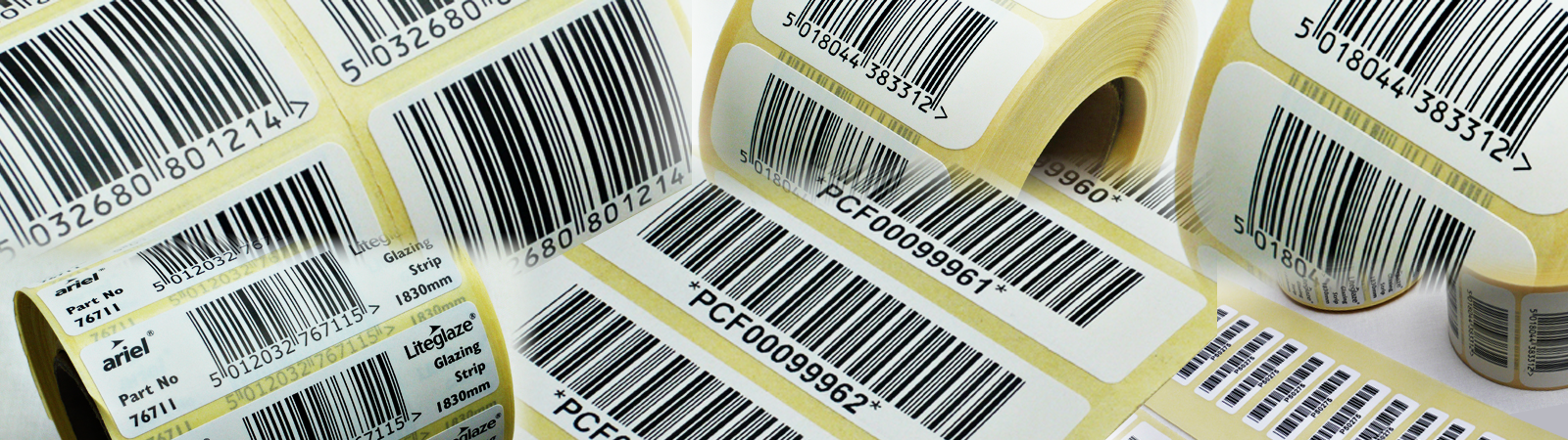 LABEL BANNER Barcode page