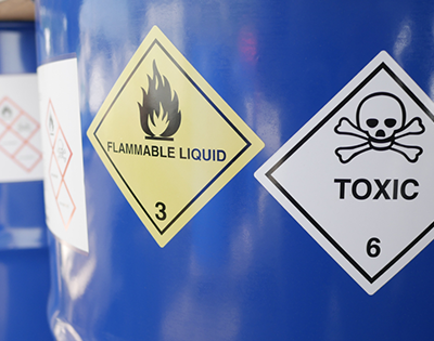 LABELS BANNER TYPE Chemical Application