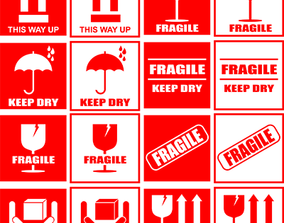 LABELS BANNER TYPE Fragile Resized