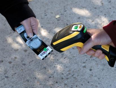 PowerScan PBT9500 Industrial Barcode Scanner Access Control