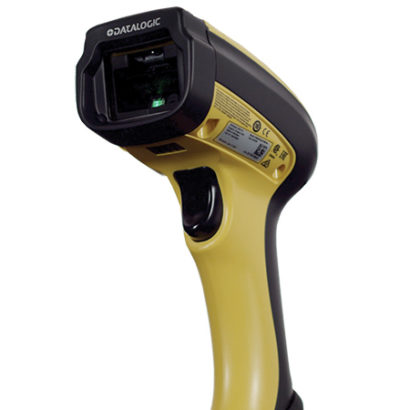 PowerScan PM9100 1D Industrial Barcode Scanner Facing Up