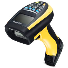 PowerScan PM9300 Industrial Barcode Scanner Left Facing