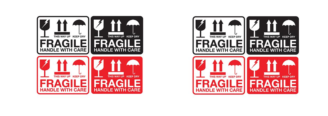 Fragile Label Type